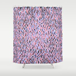 Globular Field 6 Shower Curtain