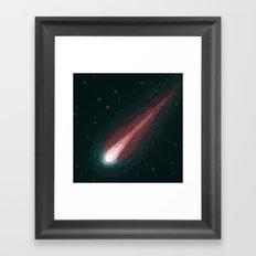 Comet ISON (8bit) Framed Art Print