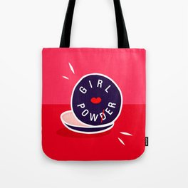 Girl Power - Morning Routine #girlpower #motivational Tote Bag