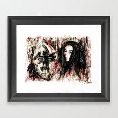 What I Think I Thought I Saw Framed Art Print