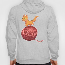 Kitten On Yan Hoody