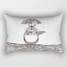 Happy Totoro Rectangular Pillow