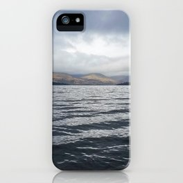 Bank of Loch Lomond iPhone Case