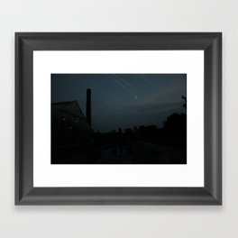Shooting stars? Framed Art Print