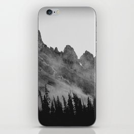 The Crags at Dawn iPhone Skin