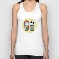 nightmare before christmas Tank Tops featuring Nightmare Before Christmas by Big Purple Glasses