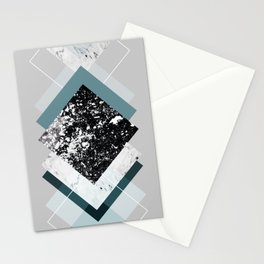 Geometric Textures 8 Stationery Cards