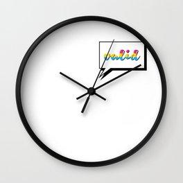 Pan People are Valid Wall Clock