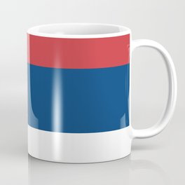 Flag of Serbia - Serbian Flag Coffee Mug