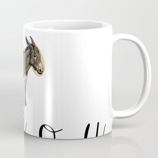 A  e  i  o  u    borriquito como tú Mug