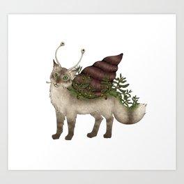 Catsnail I Art Print