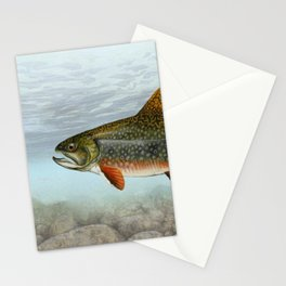 Lurking Fish Stationery Cards