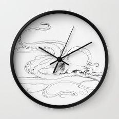Jellyfish-man Wall Clock