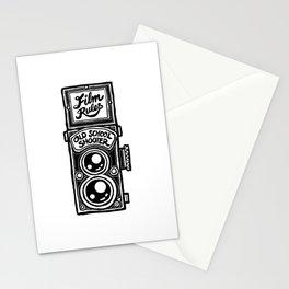 Analog Film Camera Medium Format Photography Shooter Stationery Cards