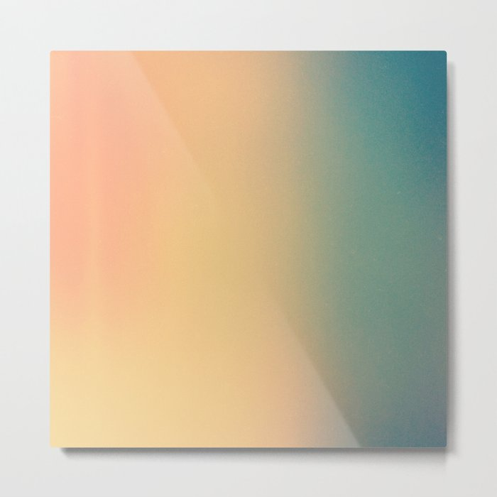 Gradient Series 002. Metal Print