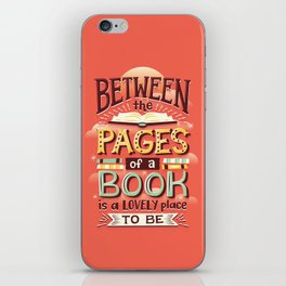 Between pages iPhone Skin