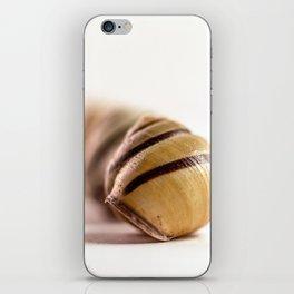 Snail house iPhone Skin