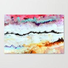 Agitation Inverted Canvas Print