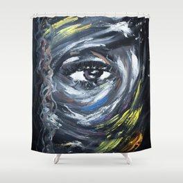 Eye on my Mood Shower Curtain