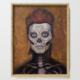 Bowie Day Of The Dead Serving Tray