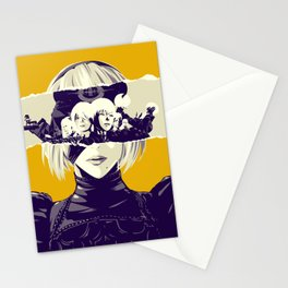 Misery - Nier Automata poster Stationery Cards