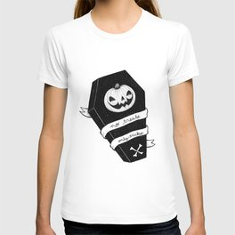 no treats, only tricks coffin T-shirt