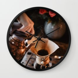 Hot Drip Coffee Wall Clock