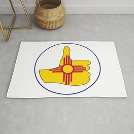 Thumbs Up New Mexico Rug