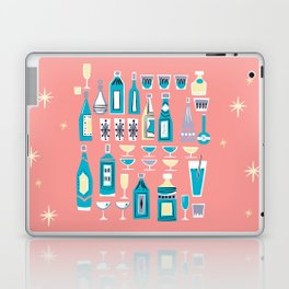 Cocktails And Drinks In Aquas and Pinks Laptop & iPad Skin