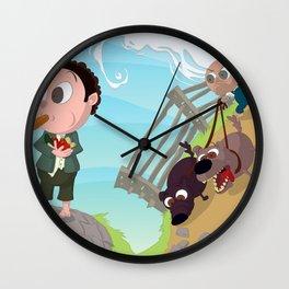 Run you Fool! Wall Clock