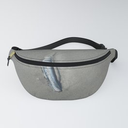 Clam shell on the beach Fanny Pack