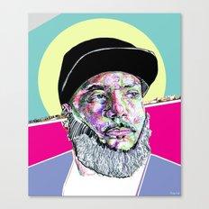 P Thugg of Chromeo Canvas Print