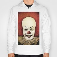 pennywise Hoodies featuring It - Pennywise (Color Version) by Sinpiggyhead