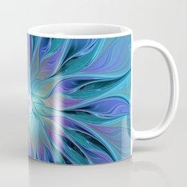 Decorative Flower Fractal Coffee Mug