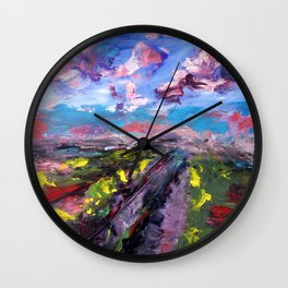 Way Wall Clock