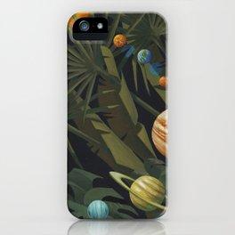 Solar System Jungle iPhone Case