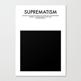 SUPREMATISM Canvas Print