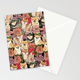 Because Shiba Inu Stationery Cards