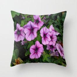 Purple Mum Throw Pillow