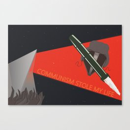 Communism stole my life Canvas Print