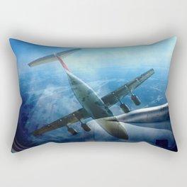 Aircraft collage Rectangular Pillow