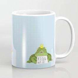 A Very Impatient Frog Prince Coffee Mug