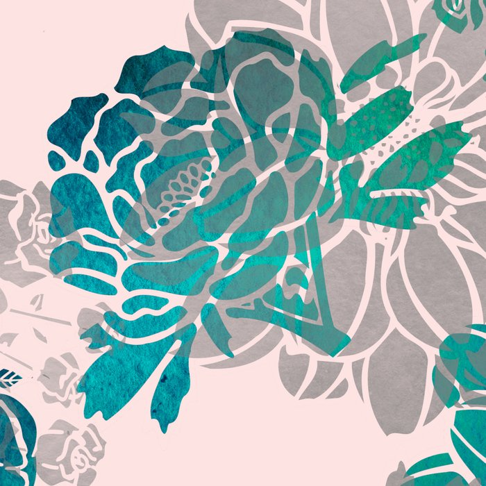 Flower Pattern Design #4 Leggings