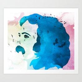 David Crosby Music is Love Art Print