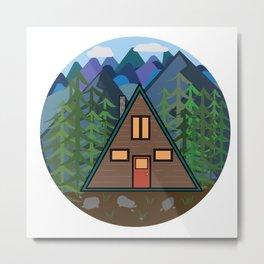 Mountain Home Metal Print