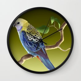 Pale-Headed Rosella Wall Clock