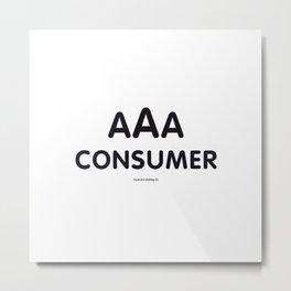 Triple-A Consumer Metal Print