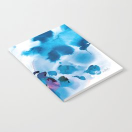 Into the deep blue night Notebook