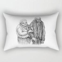 Aged Rectangular Pillow