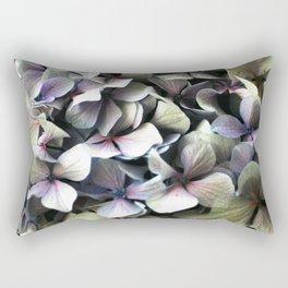 hydrangea flower macro Rectangular Pillow